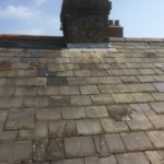 Roof Slates Before