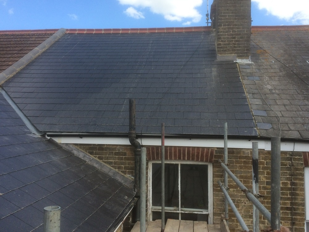 Slate Roof by TMI Roof Coatings